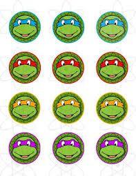 Risultati immagini per toppers tortugas ninja