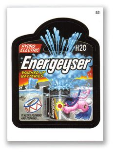 Topps Wacky Packages  2005/2006 Series 3 ENERGEYSER