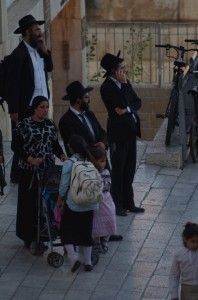 a chasidic family in Jerusalem