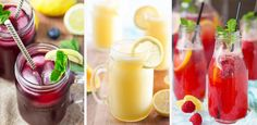 Wir ❤ spritzige Sommerlimonaden! Diese 3 Rezepte MÜSST ihr testen
