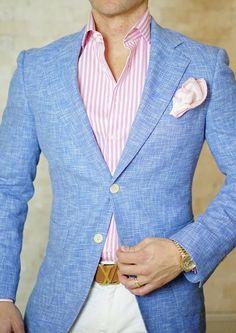 Mens Fashion Smart – The World of Mens Fashion Blazer Outfits Men, Blazer Fashion, Mens Fashion Suits, Womens Fashion, Smart Casual, Men Casual, Moda Formal, Designer Suits For Men, La Mode Masculine