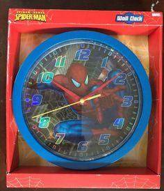 Brand New Spider-Man Wall Clock