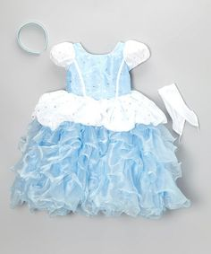 Take a look at this Blue Star Princess Dress-Up Set - Toddler & Girls by Bijan Kids on #zulily today!
