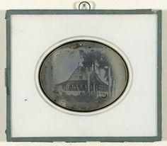 Daguerreotype gemaakt in Suriname 1840-1850......Rijksmuseum Amsterdam