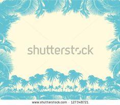 Caribbean Island Vector Art - 127348721 : Shutterstock