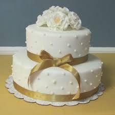 Image result for golden wedding cake