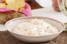 """Cremoso """"dip"""" con tocino y cheddar Receta - Comida Kraft"""