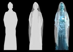 "Projection Ideas More Extreme Haunt DIY ""Daisy the Ghost Bride"" Haunted Diy, Haunted Woods, Haunted Hayride, Halloween Haunted Houses, Halloween Ghosts, Haunted Mansion, Halloween Items, Halloween 2015, Holidays Halloween"