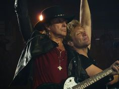 Richie Sambora & Jon Bon Jovi - p1030902, via Flickr.