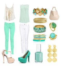 these colors could have their own section in my closet! i absolutely adore!