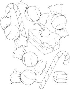 A Party For Candy Coloring Pages - Cookie Coloring Pages : KidsDrawing – Free Coloring Pages Online