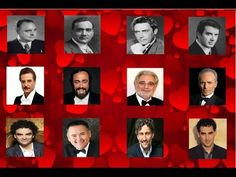 Grandes Tenores del Siglo XX - Great Tenors of 20 Century Alfredo Kraus, Music Songs, Music Videos, Placido Domingo, Best Songs, Classical Music, Comedians, The Voice, Youtube