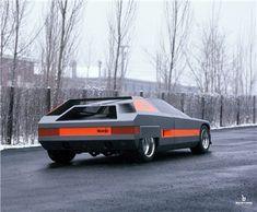 alfa romeo t33 navajo, bertone 1976