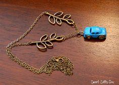 Harry Potter Flying Car Long Necklace, Harry Potter Jewelry, Harry Potter Gift on Etsy, $22.50