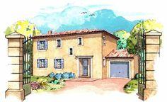 Plan maison neuve à construire - Les Maisons de Manon Marie 120