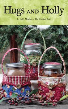 Free Downloads - Mason Jar Basket (and many other things, too) ... http://www.thewoodenbear.com/free-downloads.htm