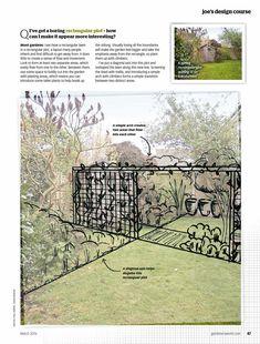 Gardeners world mag 1603 anniversary edition by Cristina Meizoso - issuu Sloped Backyard, 25th Anniversary, Little Houses, Beautiful Gardens, More Fun, Lawn, Garden Design, World, Outdoor Decor