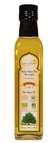 Organic Oil  250ml Pure Certified Argan Oil Hair Oil Body Oil Face Oil Moisturising oil for hair face  body Premium Quality of Moroccan Oil to nourrish extreme dry skin and repare damaged hair 100 Organic certified by ECOCERT -- You can get more details by clicking on the image.