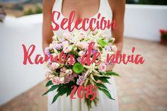 Selección de los ramos de novia usados en el 2015. Inspiración para ramos de novia en Malaga. Fotografo de bodas en Malaga.