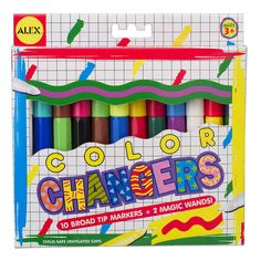Color Changing Markers 12