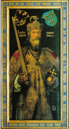 I'm writing a research paper about Charlemagne, how do I cite my primary source?