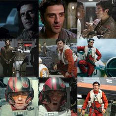 *epic voice* POE DAMERON'S BEAUTIFUL FACE.                                        You know what I mean, Becca? XD