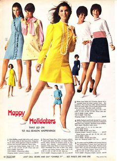 Dresses from the 1968 Sears catalogue