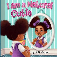 Does your little cu – Styles Kids Books For Black Girls, Black Children's Books, Books By Black Authors, Black History Books, Black Kids, African American Literature, Children's Book Characters, Natural Hairstyles For Kids, I Love Books