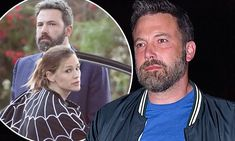Ben Affleck with ex Jennifer Garner and their children on Christmas