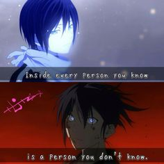 And that person can be scary. As shown here with our friend Yato.