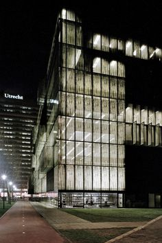 Utrecht University Library Wiel Arets Architects