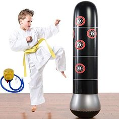 Discounted Eforoutdoor Fitness Punching Bag Heavy Punching Bag Inflatable Punching Tower Bag Freestanding Children Fitness Play Adults De-Stress Boxing Target Bag 5.25ft #EforoutdoorFitnessPunchingBagHeavyPunchingBagInflatablePunchingTowerBagFreestandingChildrenFitnessPlayAdultsDe-StressBoxingTargetBag5.25ft Heavy Punching Bag, Stress Busters, Boxing Workout, Burn Calories, Target, Things That Bounce, Play, Kicks, Children