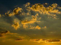 #background #clouds #dusk #evening sky #evening sun #farbenspiel #golden #lichtspiel #mood #romance #sky #sunset #texture #twilight