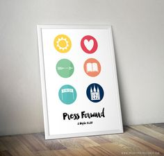 2016 LDS Young Women's Mutual Theme Printable Kit - Press Forward - Latter Day…