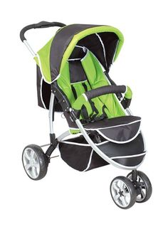 Green Newborn Carriage Infant Travel Car Foldable Pram Baby Stroller Pushchair