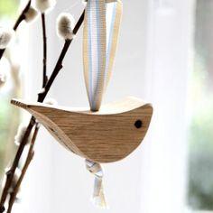 Oak Love Birds - Hop & Peck