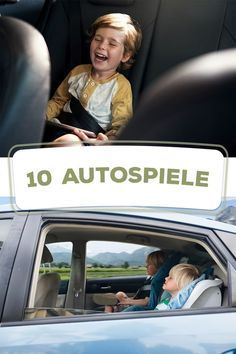 "Lange Autofahrten mit Kindern: Ein paar hiervon solltest du immer ""im Gepäck"" haben With these classic car games fun is guaranteed while driving and also during the break without much effort. Craft Activities For Kids, Toddler Activities, Family Activities, Diy For Kids, Cool Kids, Long Car Rides, Kids Makeup, Baby Kind, Travel With Kids"