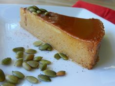 From Gastroposter Erica Westeroth:  Combining two Mexican flavours to create a creamy custard flan with sweet heat.