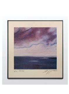 (1) H.J Pohl – Original Limited Edition Lithograph 1983 – Art & Vintage Store Ltd