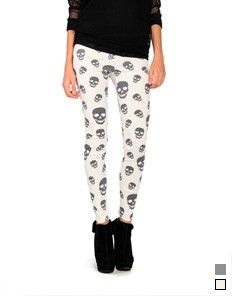 Skull Jeggings for Alyssa