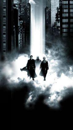 The Matrix - Neo, Morpheus, and Trinity