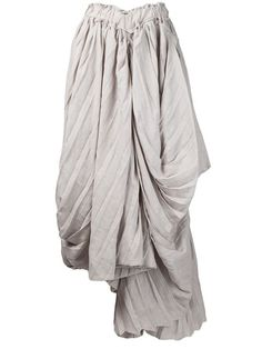 Yohji Yamamoto Pleated Skirt - - Farfetch.com