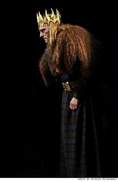 "Cymbeline (Scott Coopwood) in ""Shakespeare's Amazing Cymbeline."" Photo by Patrick Weishampel."