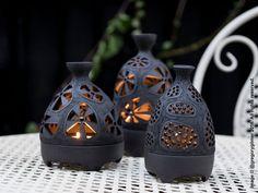 Ceramic Oil Burner, Ceramic Clay, Ceramic Pottery, Porcelain Ceramic, Slab Pottery, Pottery Vase, Ceramic Bowls, Candle Lanterns, Tea Light Candles