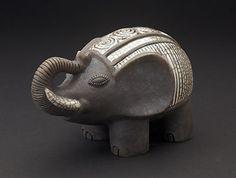 Raku Elephant - South Africa www.africaandbeyond.com