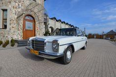 W115 WYNAJEM Chełm, lubelskie. Piękny, zabytkowy mercedes W115 z 1975roku, z przestronnym, skórzanym wnętrzem i klasyczną linią czeka właśnie na Was !!!...