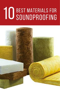 Best Insulation Materials for Soundproofing And Acoustics Home Recording Studio Setup, Home Studio Setup, Music Studio Room, Recording Booth, Sound Studio, Studio Soundproofing, Soundproofing Material, Best Insulation, Insulation Materials