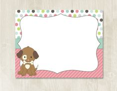 Puppy birthday, puppy themed party, puppy party, puppy sign.  Hey, I found this really awesome Etsy listing at https://www.etsy.com/listing/239157377/85x11-blank-sign-instant-download-puppy