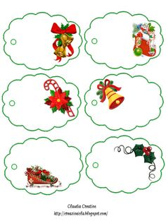 Christmas Stickers Christmas stickers are very common when it comes to the creation of some handmade Christmas craft, greeting cards, and scrapbooks. Handmade Christmas Crafts, Diy Christmas Cards, Christmas Stickers, Christmas Gift Tags, Christmas Holidays, Christmas Activities, Christmas Printables, New Year's Crafts, Handmade Gift Tags