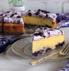 Milchmädchenkuchen mit Blaubeeren | Tortentine